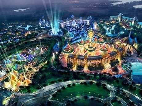 Cirque du Soleil Theme Park Nuevo Vallarta Mexico The Parks Vidanta